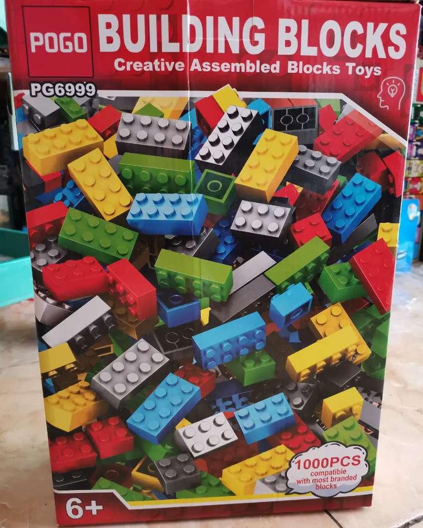 POGO brick building blocks mirip lego 0