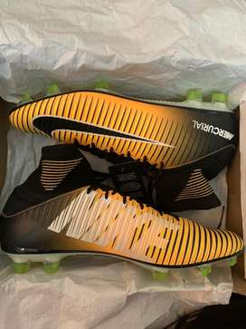 Nike mercurials football shoes..high ankle top model brand new uk 10
