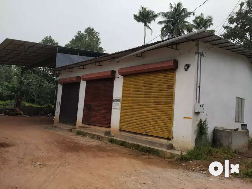 Godown for rent . Available fully or partly @mulanthuruthy 0