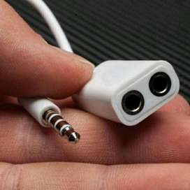 splitter Audio Kabel Aux 2in1