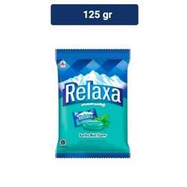 Relaxa Barley Mint Flavor 125g-Permen Pedas-Candy Pouch-Isi 50-Plastik