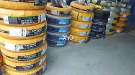 Big discount on branded tyres