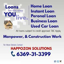 HOME LOAN, BUSINESS LOAN, PERSONAL LOAN, PRIVATE FINANCE AVAILABLE