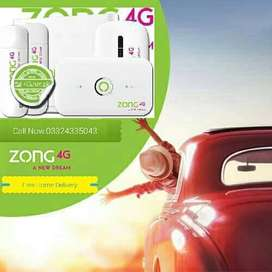 Zong 4G device latest model Available