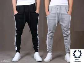 Mens Casual Solid Track Pants