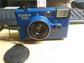 Kamera jadul Konica pop