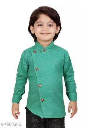CUTE PRINTED COTTON SHIRTS FOR KIDS-NEW WITH COD