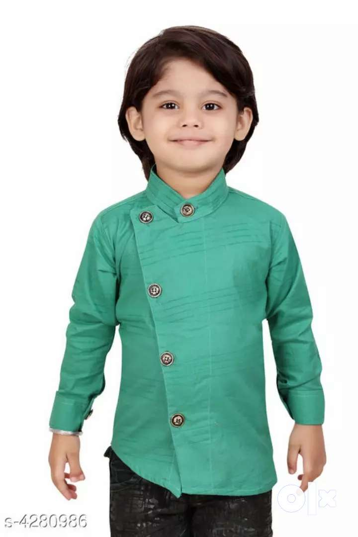 CUTE PRINTED COTTON SHIRTS FOR KIDS-NEW WITH COD 0