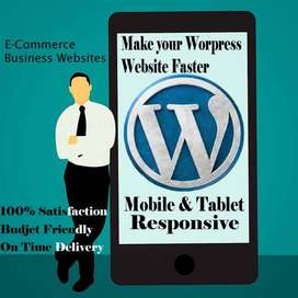 I will create a professional all kind of web site for your business.