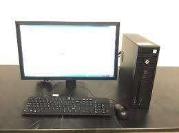 Branded Gaming desktop HP Core I3 6th gen 4gb ram 500 gb hdd 19led