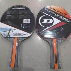 Bet Pingpong Tenis Meja Dunlop Tipe Black Strom Control 100 Ori