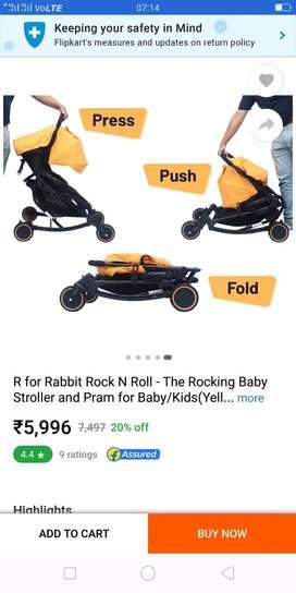 R For Rabbit Stroller.