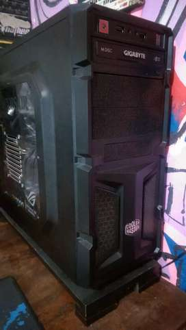 Di jual only casing cooler master k350+DVD