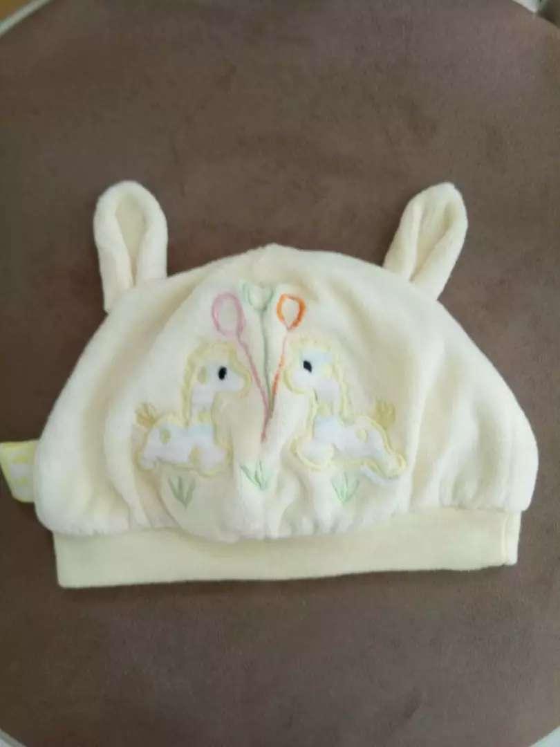 Topi bayi Yuanmeng lucu 0