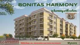 Bonitas Harmony Luxury Apartment in Vijaynagar 2nd stage