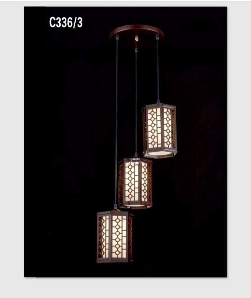 Lampu hias gantung minimalis dekorasi meja makan 336/3 ID62