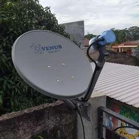 Antena parabola mini bebas biaya berlangganan slamanya Kualitas bening