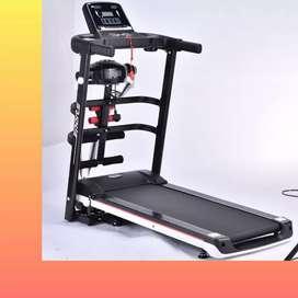 treadmill elektrik EXONE-1007 alat fitnes electric