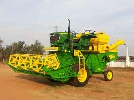 Harvester driver