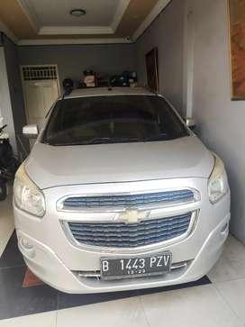 Chevrolet Spin LTZ 2013 AT siap pakai tampa dandan dan pr