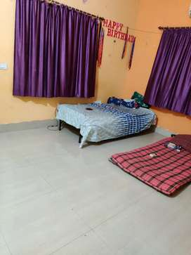 Fully furnished room in one bhk apartment is vacant