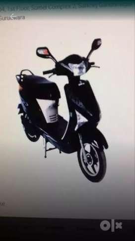 Oreva Electric bike.