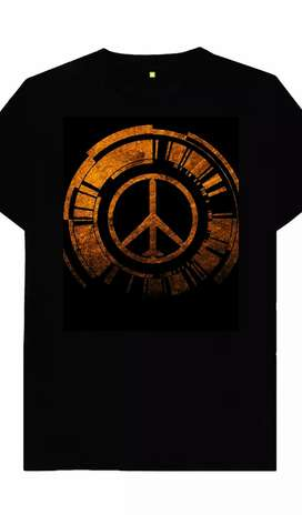Black T shirt (Peace)