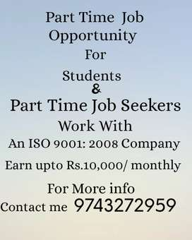 Earn Income in part time