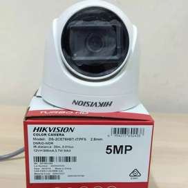 DS-2CE76H0T-ITPFS Hikvision Kamera CCTV indoor 5MP audio suara