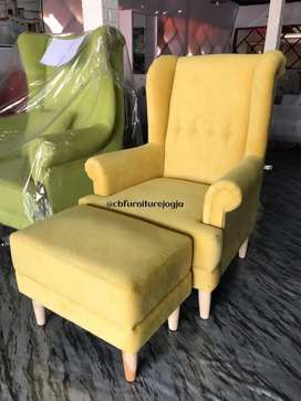 Sofa wing chair best seller