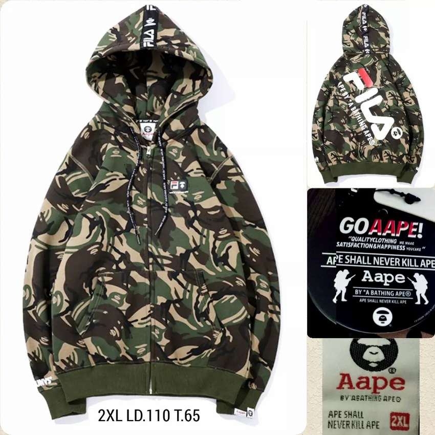 Jaket Army Merk Ape 0