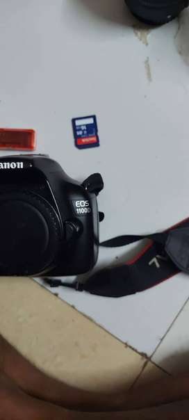 Sale for dslr canon 1100D 2lance 18-55mm And 75-300mm