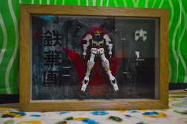 Gundam in frame Barbatos