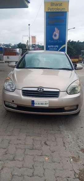 Hyundai Verna 2006-2010 CRDi, 2010, Diesel