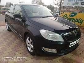 Black Skoda Rapid 2013 Diesel 164000 Km Driven