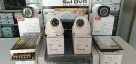 Cctv Paket 4 Kamera 2 MP Lengkap + Instalasi