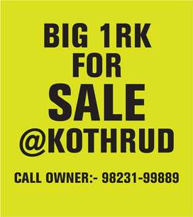 Beautiful 1 RK for Sale in the heart of Kothrud