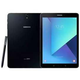 Samsung tab S3 with S-Pen,Sim Card,256 GB class 10 SD card, Tab Cover