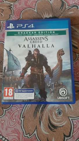 Assassin creed valhalla ps4 and ps5 upgradable