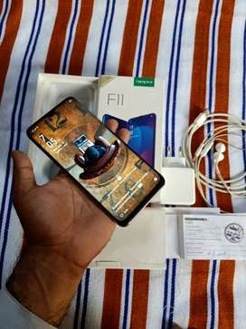 Oppo f11 all accessories complete box