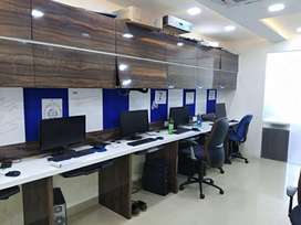Fully Furnished 10 Seater 2 Cabin Office For Rent/Lease At Janjeerwala