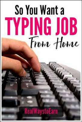 Home based typing job available for students at home