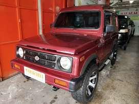 Katana GX 1.0 MT 1994 Merah Metalik Mulus, bodi ngaleng, Siap pakai