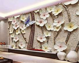 3D wallpapers for walls at very reasonable price.