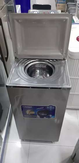"New dryer with metal body 10"" one year shop warranty"