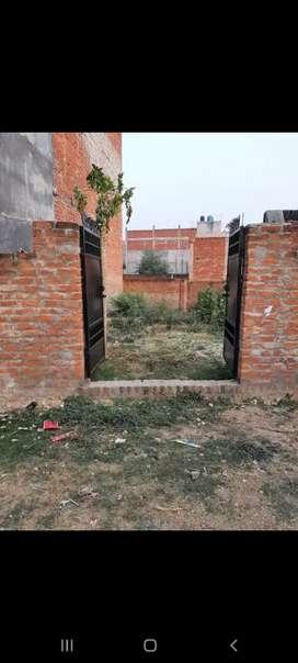 1425 sq feet plot in 20 feet CC road with 8 feet boundary & Gate