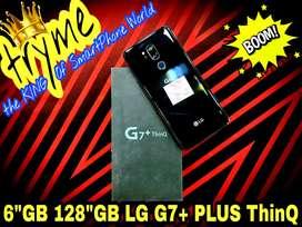 """TRYME 6GB RAM/128GB LG G7+ THINQ Fresh Condition""""s"""