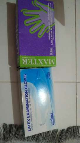 Handscoon Latex size M