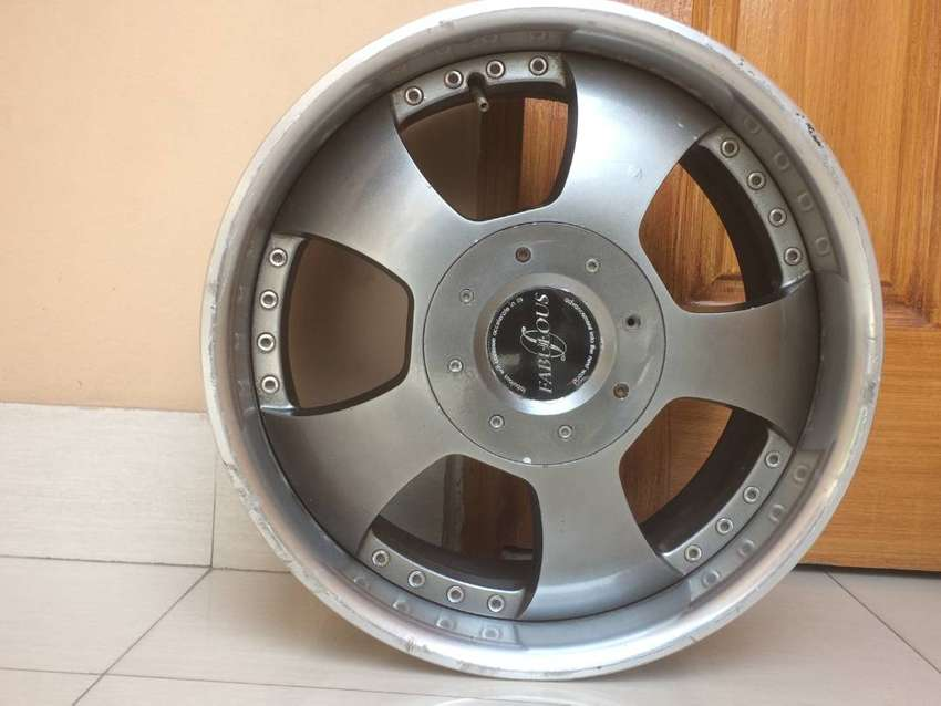 Alloy rims with chrome lip size 17  PCD 4 nuts 0