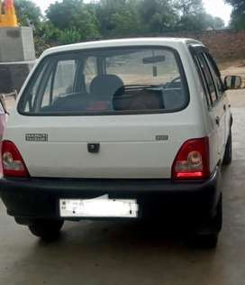 Maruti Suzuki 800 2007 Petrol Well Maintained